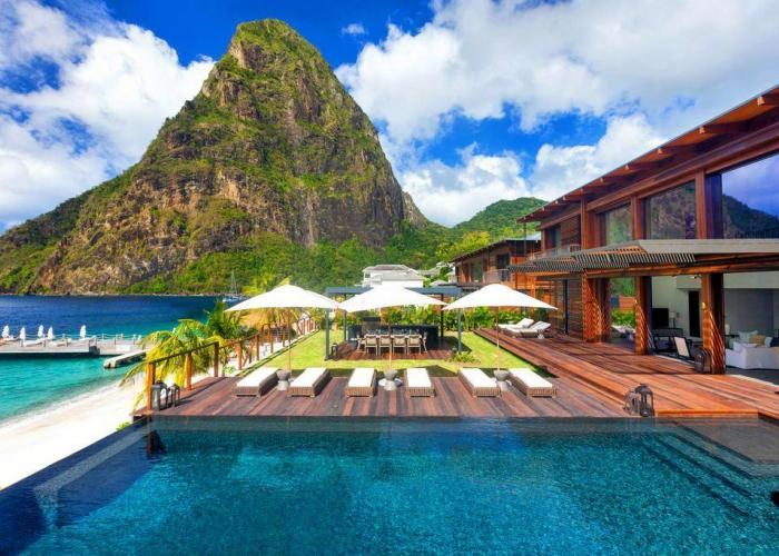 Sugar Beach, A Viceroy St. Lucia